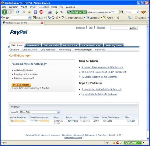 Paypal Dokumente Hochladen
